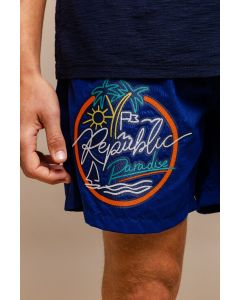 SHORT MASCULINO VOLLEY PATCH NEON